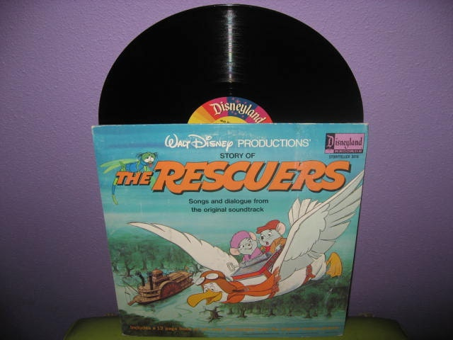 Vinyl Record Disney S The Rescuers Original By Justcoolrecords