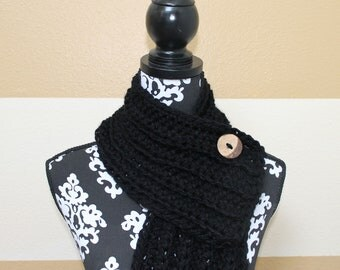 Large Button Scarf  - ANY color