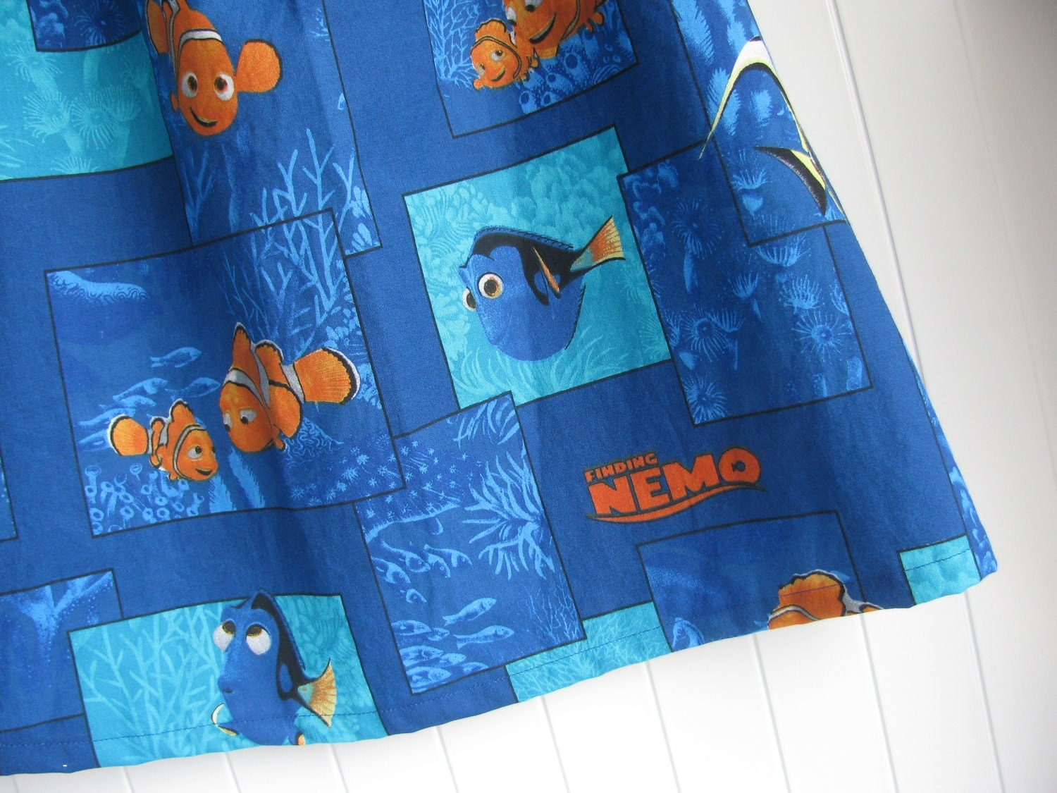 Finding Nemo Cotton Fabric By The Yard Free Shipping