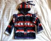 Child Capote Jacket - Native Sunrise