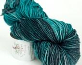 Hand Dyed Worsted Yarn - Cashmere Merino - 115g