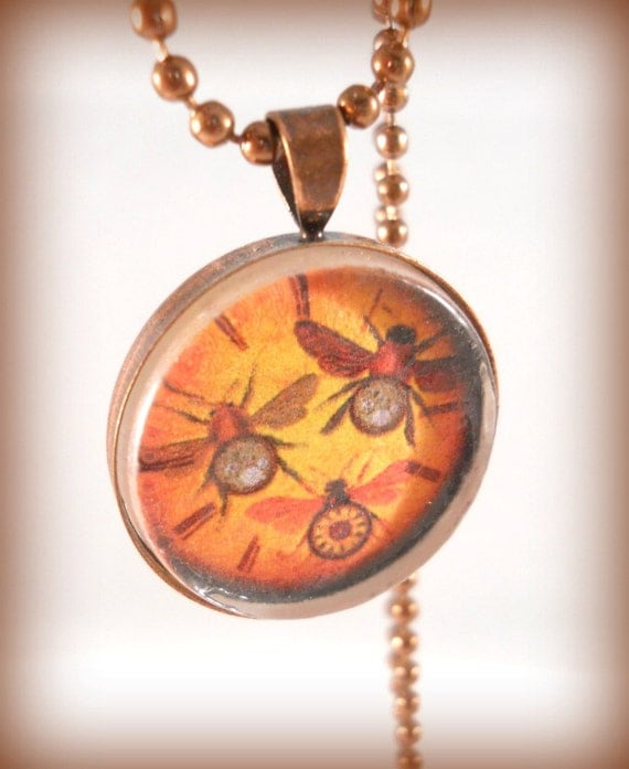 Is Steampunk Jewelry A Craft Or An Art: ON SALE Alternative Jewelry Art Pendant Teen Jewelry Steampunk