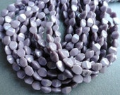 Lavender Pinch Beads - Czech Glass Pinch Beads - Pressed Glass