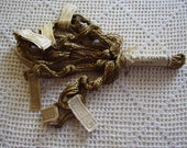 Vintage Floss J & P Coats Artificial Silk 7 Skeins