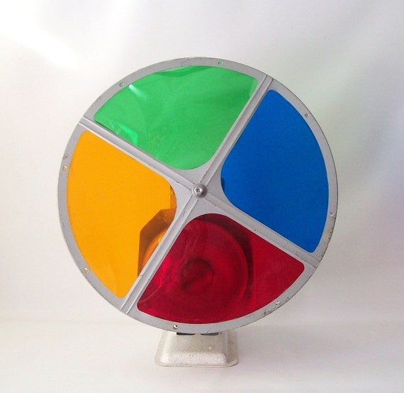 Items Similar To Vintage Christmas Tree Color Wheel