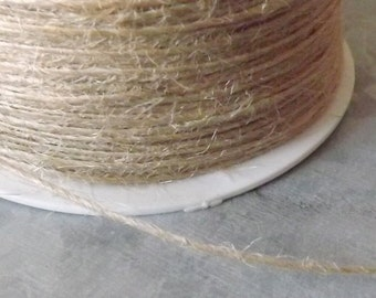 Natural Burlap String 20 Yards