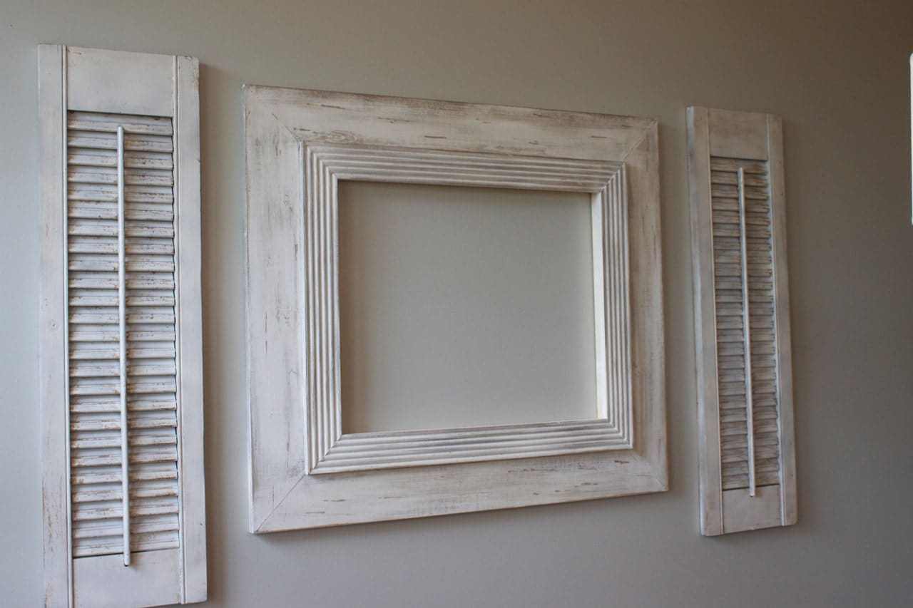 16x20 distressed open back picture frame by deltagirlframes for 16x20 frame