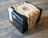 Gran Habano black cigar box recycled into Unique Jewelry Box