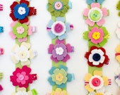 Flower hairclips