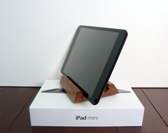 Wood Stand for iPad mini Dark Cherry
