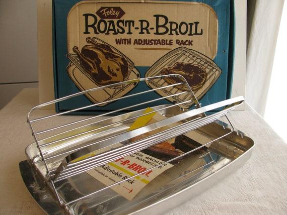 Foley Roast R Broil Pan With Adjustable Rack