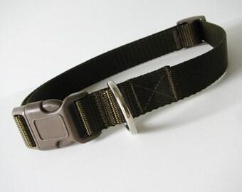 LARGE Simply Chocolate dog collar