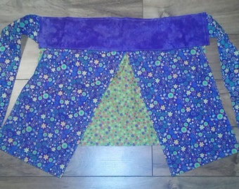 CLEARANCE SALE: Retro Apron for Child, Teen, even Adults (Purple/Polka Dot/Flowery