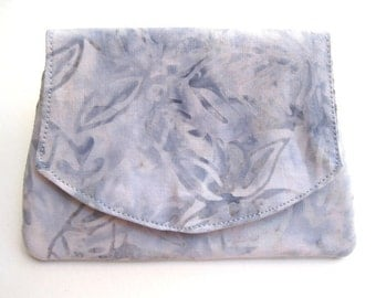 Icy Blue Batik Wallet