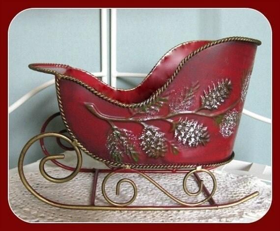 RESERVED FOR Di thru 10 16 12 Christmas Sleigh Christmas