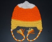 Candy Corn Hat for Halloween  Newborn Candy Corn Hat, Toddler Candy Corn Hat, Teen Candy Corn Hat or Adult Candy Corn Hat