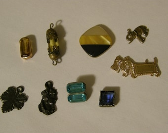 Vintage findings lot for re-purpose