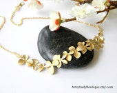 Amelia's Orchids - Gold Necklace