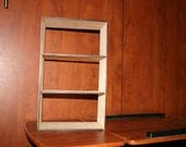Shelving Unit- Unfinished- Laser cut to your specifications