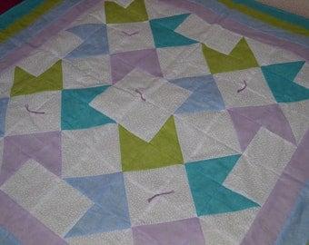 Stars N Stripes Baby Quilt
