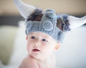 Custom Baby Viking Hat