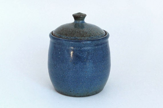 Lidded Ceramic Jar - Sugar Bowl