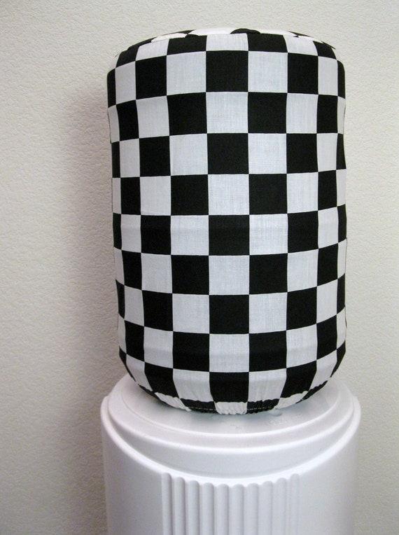 5 Gallon Decor- Checker Racer