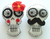 Day of the Dead Wedding Favors Sugar Skull Decorations