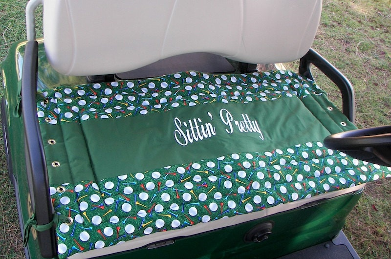 Golf Cart Seat Cover Personalized for You
