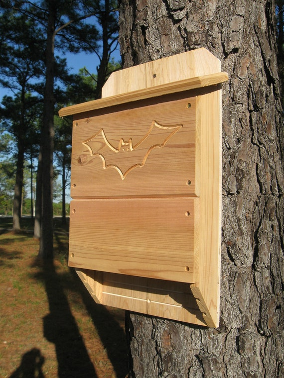 Wood bat house plans for How to make a bat house
