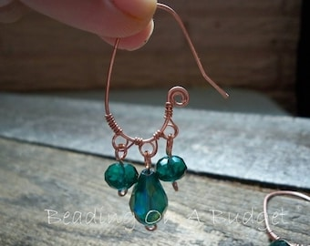 Tutorial PDF-Fancy 3-Hole Earwires