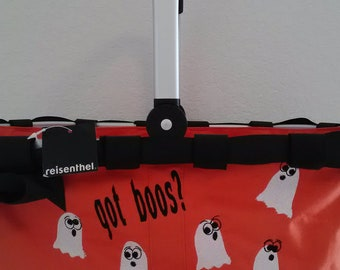 Halloween collapsible market tote