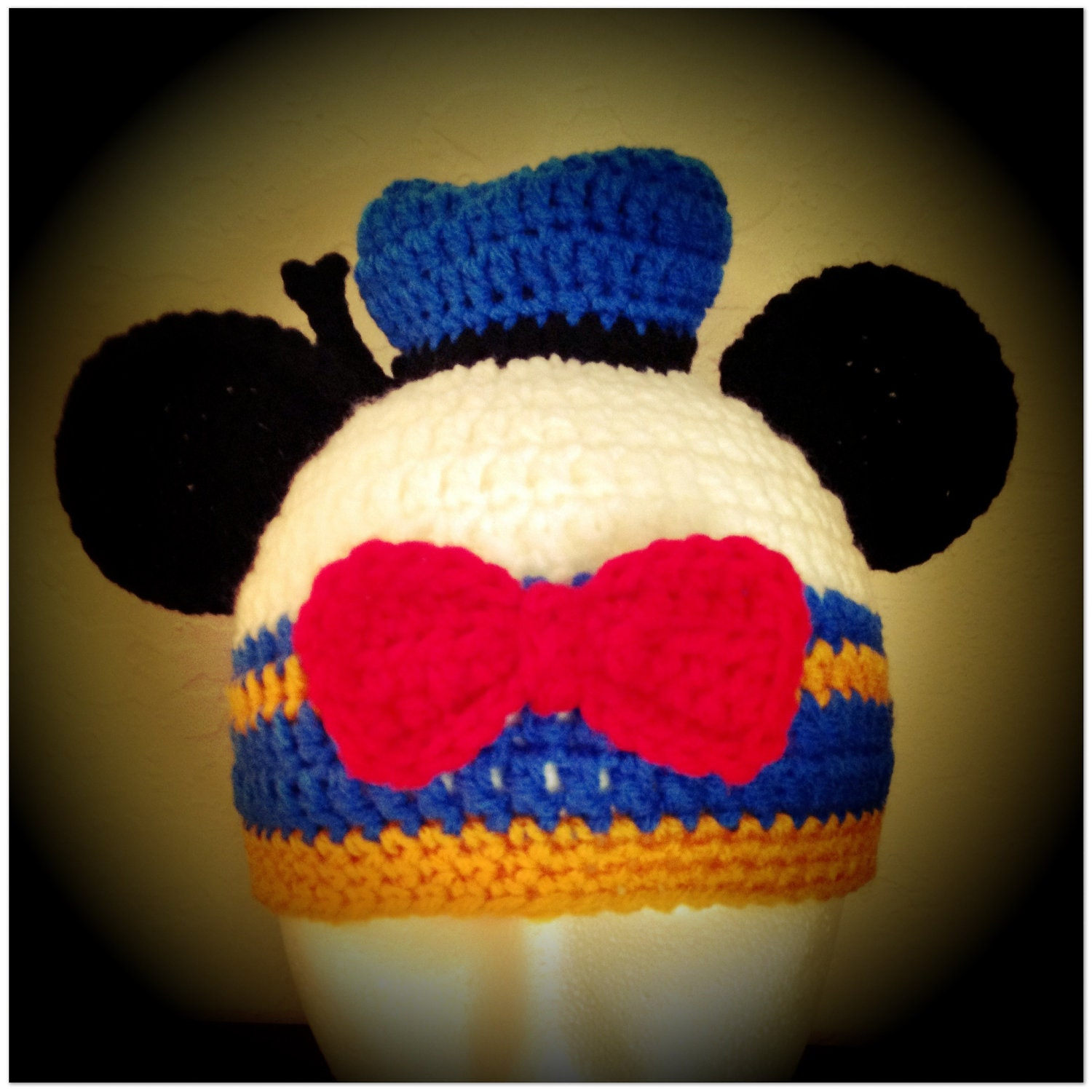 Free Donald Duck Hat Printable