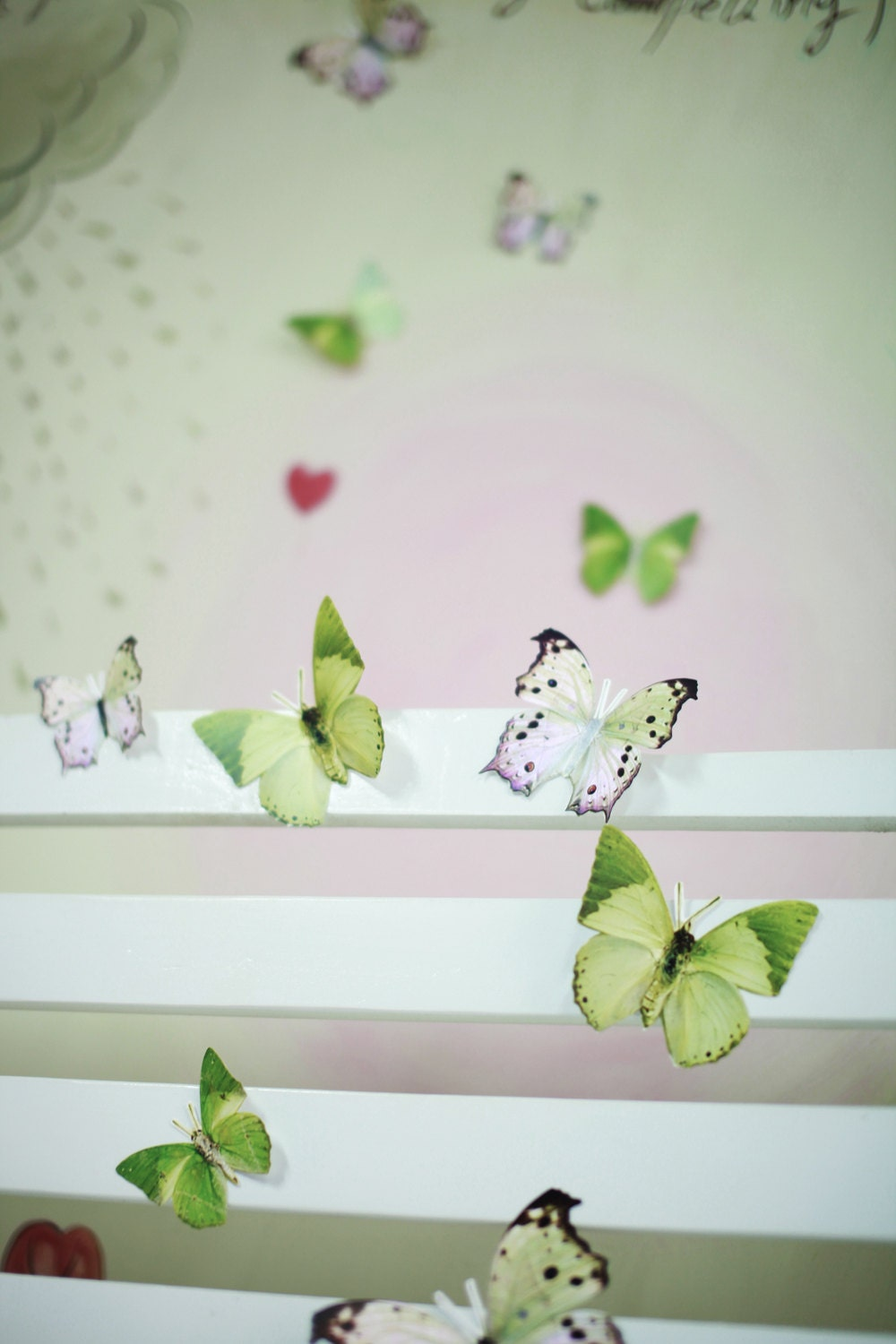 12 3D Wall Butterflies3D Butterfly Wall Art By SimplyChicLily