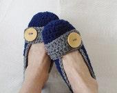 Crochet Slippers Womens Flats