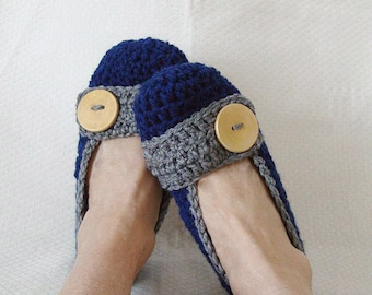 Crochet Slippers Womens Flats