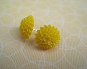 Lemon Flower Post Earrings
