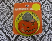 Vintage Halloween Pin Back Button
