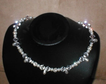 Swarovski Crystal Necklace Bridal