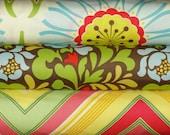 Heather Bailey Fabric Bundle, Pop Garden, Full Yard Set, 3 Yards Total