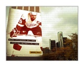 Steve Yzerman Detroit Red Wing 8x10 photo Ren Cen Free Shipping Global