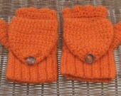 Convertible 100% Wool Texting Gloves