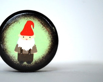 Woodland Gnome Pill Box - Stocking Stuffer