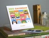 2013 Peekaboo Animal CD Case Desk Calendar