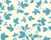 Oh Deer fabric in Bright Sky Floral by Momo for Moda // modern quilt fabric // fat quarter to yardage // quilt shop and quilting supplies