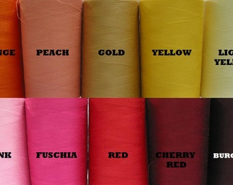 Thread - Assorted color polyester - Your choice of 1 cone of thread