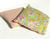 Linen lavender sachet - Liberty pink set