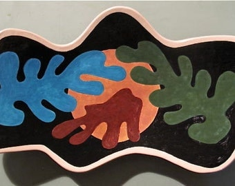 Matisse-Inspired Serving Platter
