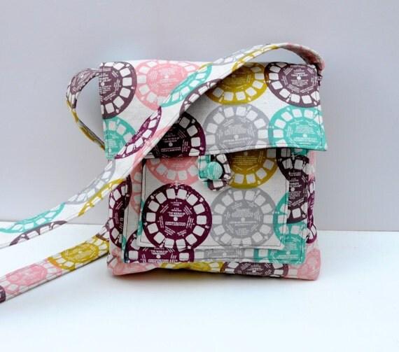 View Finder Mini Messanger Bag - Ruby Star Rising Crossbody Hip Purse