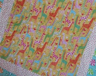 Giraffe Drag-a-long Quilt